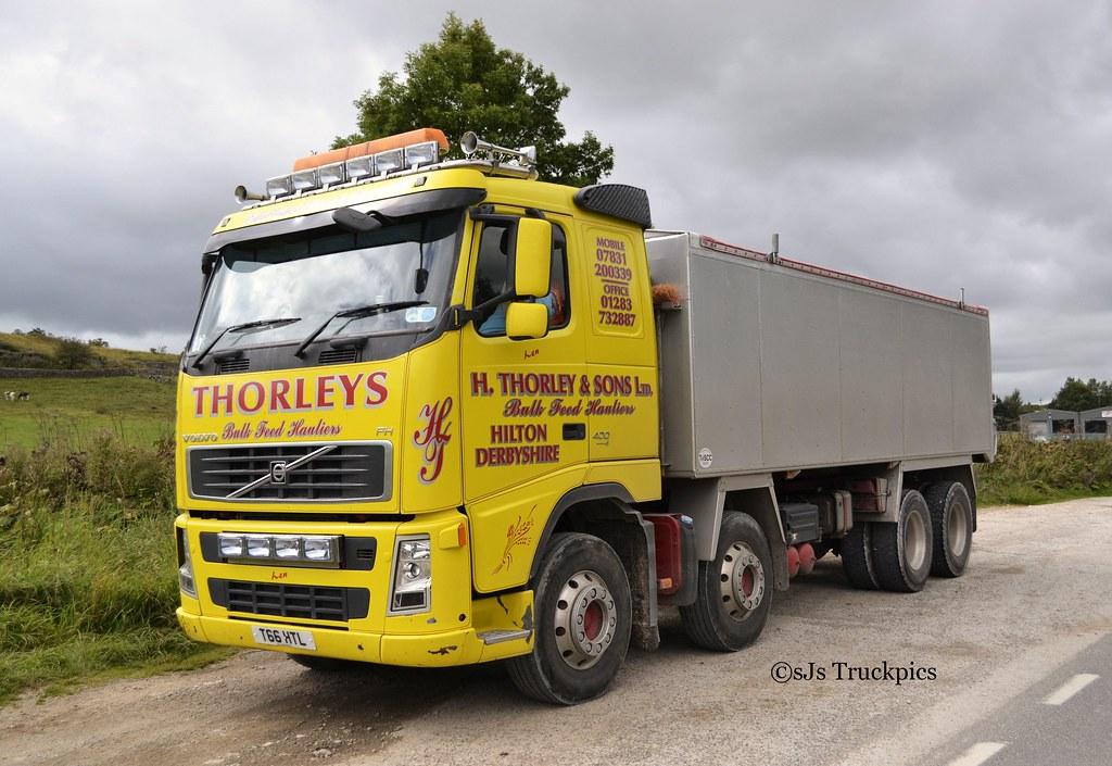Volvo Fh H Thorley Amp Sons Ltd Hilton Derbyshire