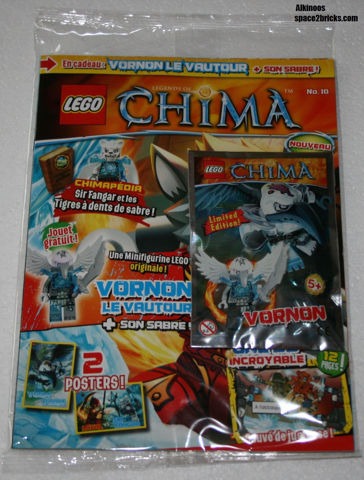 Lego Chima Vornon Legends of Chima Vornon p1