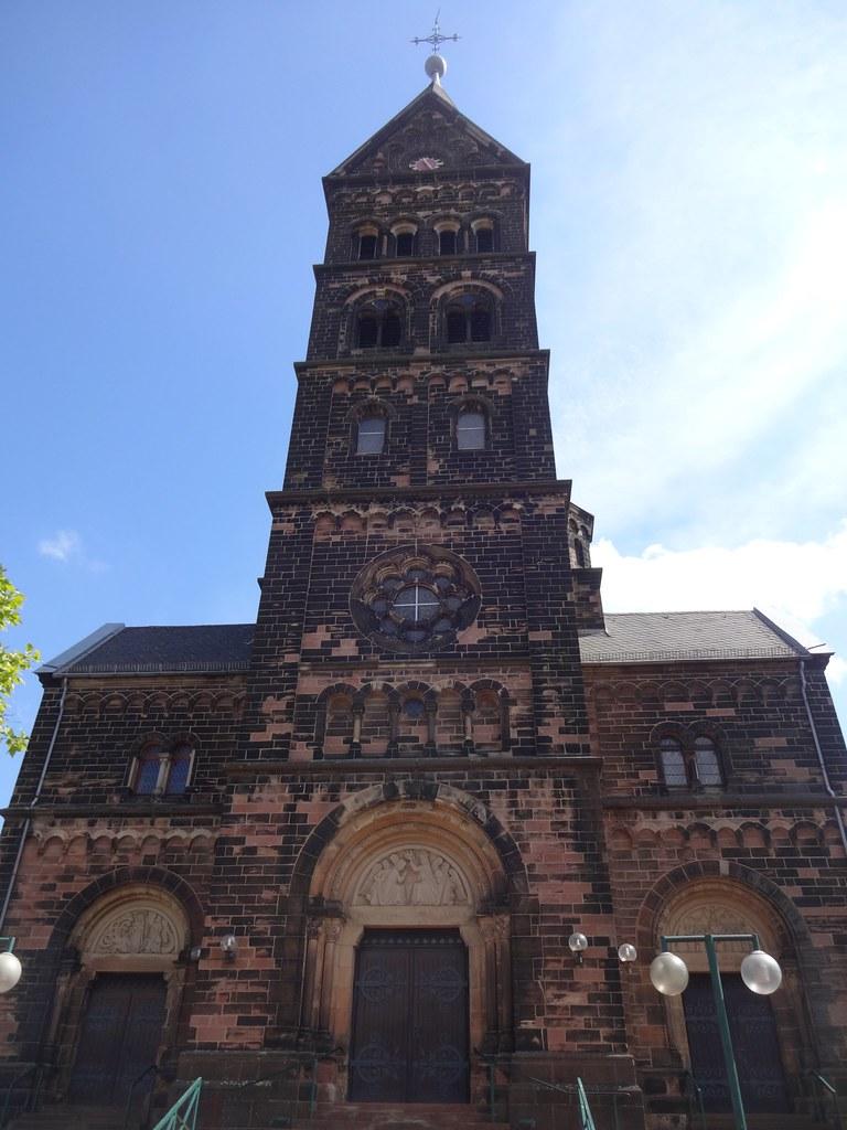 Neunkirchen, Saarland (state of Germany), Marienkirche, ig ...