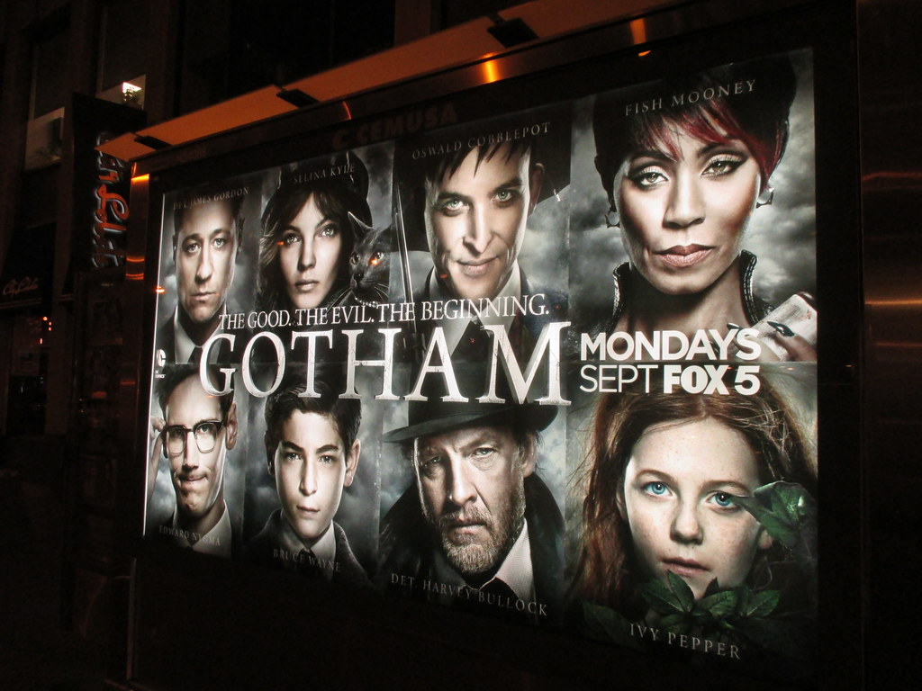 Gotham tv Show Wallpaper Gotham tv Series Batman at