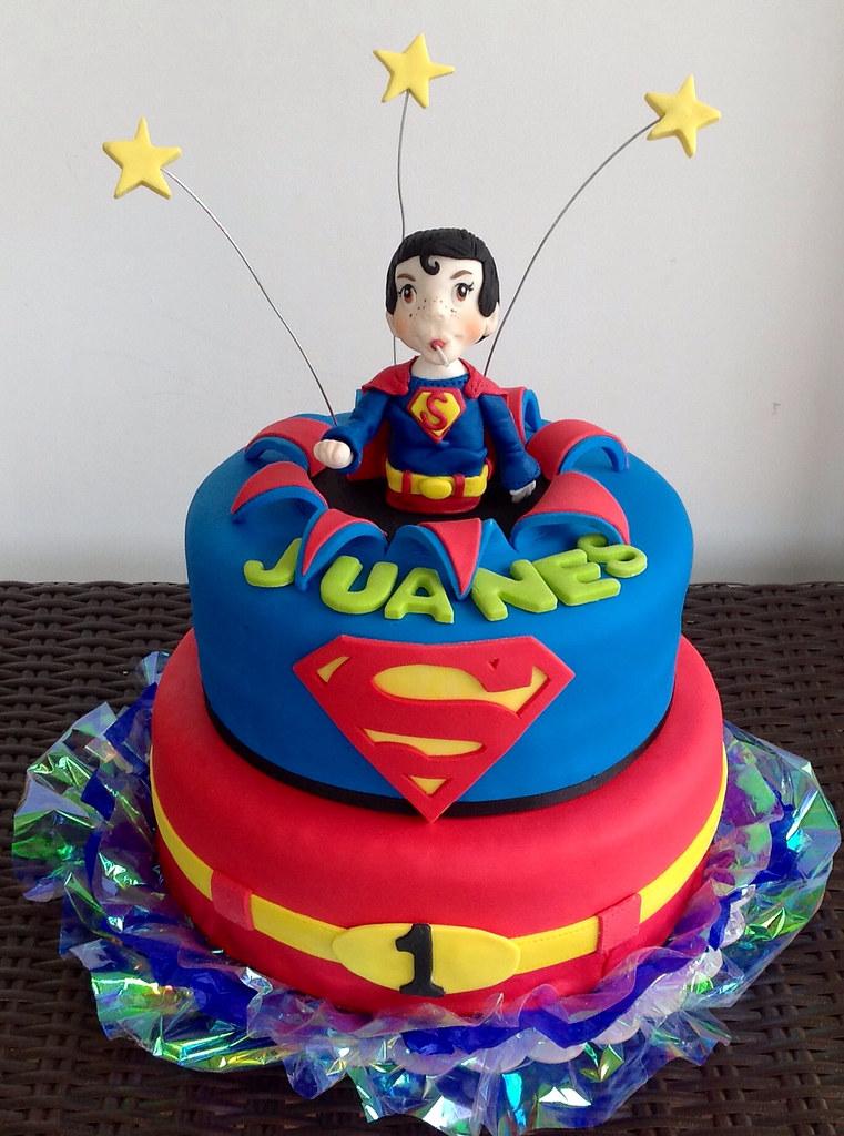 torta superman bebe karentina lozano bonilla flickr. Black Bedroom Furniture Sets. Home Design Ideas