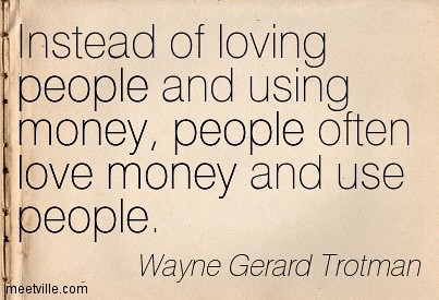 quotes about money and greed