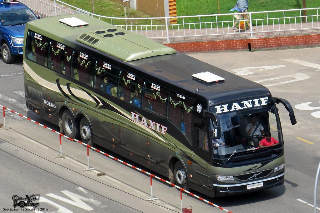 Hanif Enterprise Volvo B9r Coach Bangladesh Dhaka Cantt