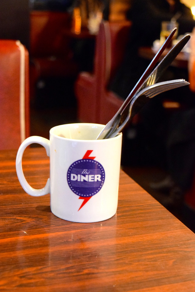 Lunch at The Diner, Soho | www.rachelphipps.com @rachelphipps