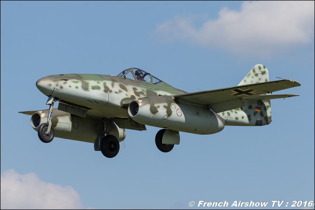 Messerschmitt Stiftung Messerschmitt Me.262 Swallow D-IMTT ,airpower zeltweg 2016 , AIRPOWER16 - Österreichs Airshow , Steiermark , Austria, Canon Reflex , EOS System