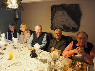 Margaret, Jaqueline, Bill, Owen and Jeg