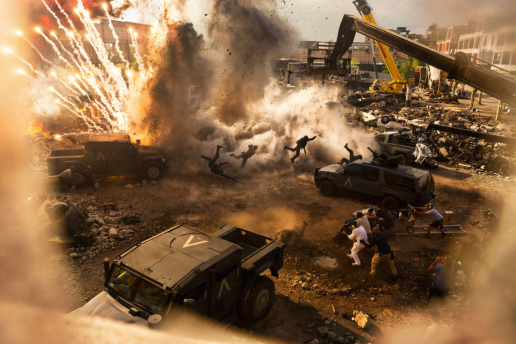 Transformers: The Last Knight Behind The Scene