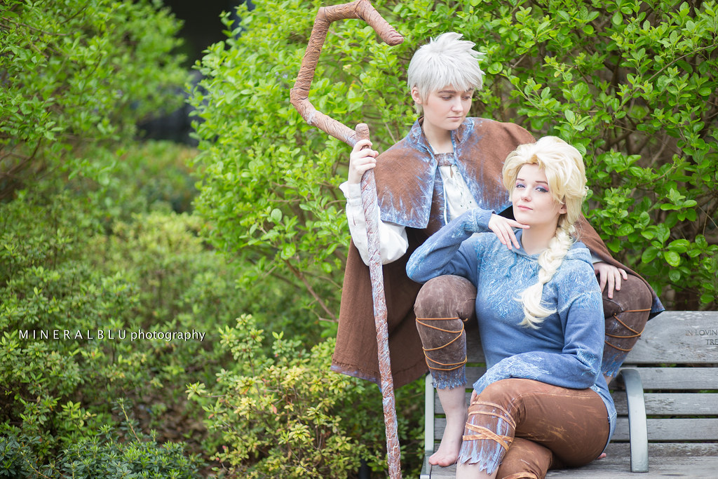 ... Cosplay as Jack Frost & Elsa Frozen | Anime Matsuri … | Flickr