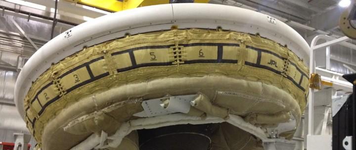 Летающая тарелка от NASA Low-Density Supersonic Decelerator LDSD прошела успешные испытания
