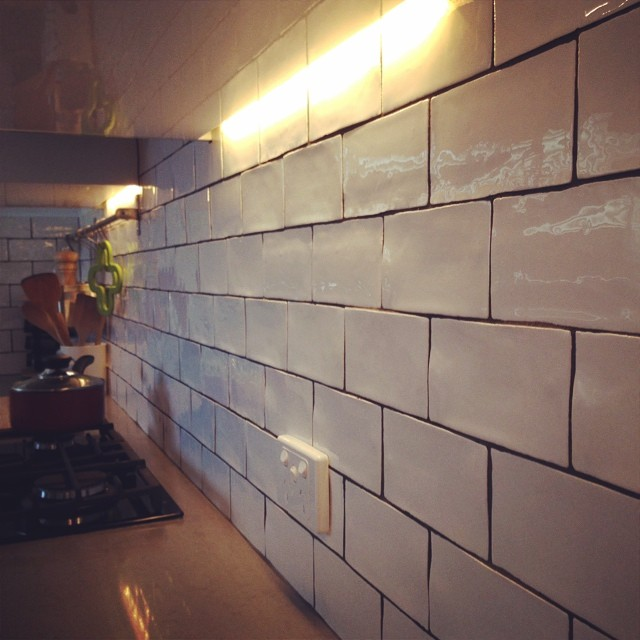 Handmade Subway Tile Kitchen