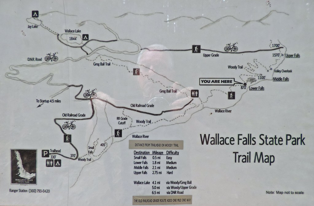 wallace falls state park trail map