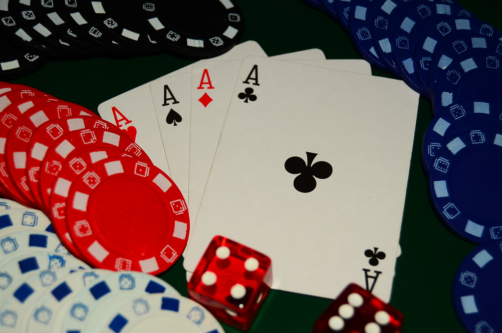 Four Of A Kind - Poker Hand - Consisting of the four aces ...