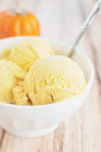 Paleo Pumpkin Pie Ice Cream recipe