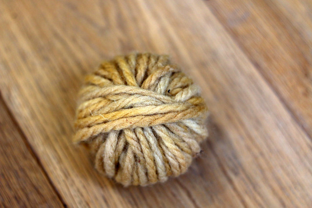 Yarn Naturally Dyed with Privet