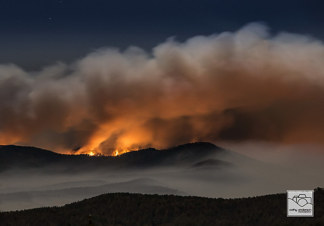 South Mountain State Park Wildfire