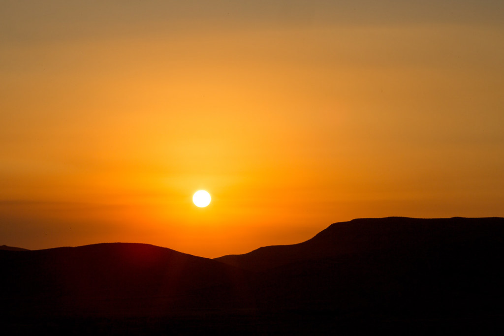 Esther Havens | Sunset in the Negev Desert