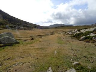 Au col Est du Pianu d'Urnucciu : arrivée sur le Pianu