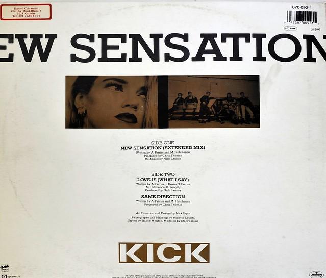 """INXS New Sensation 12"""" MAXI VINYL"""