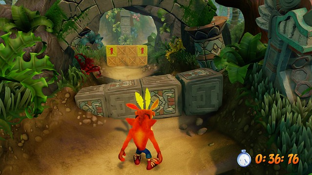 Crash Bandicoot N Sane Trilogy, Time Trials
