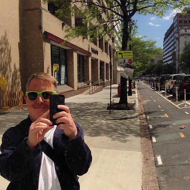 Cycletrack selfie
