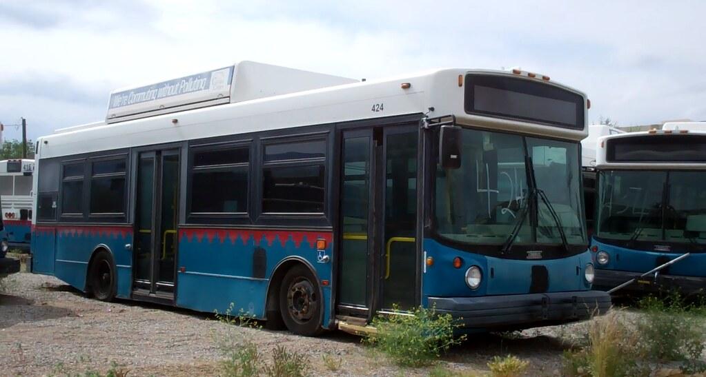 Thomas Built Buses >> Ex ABQ Ride Thomas Built Buses SLF232 CNG #424 | Xpeditor Driver | Flickr