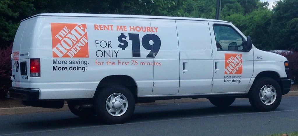 Home depot rental truck van 7 2014 pics by mike mozart of - Renter s wallpaper home depot ...