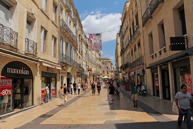 Grand Rue Jean Moulin Montpellier France Flickr