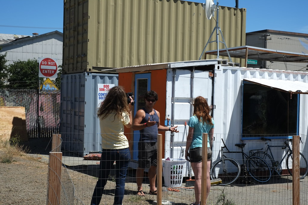 The iteration process began with the first shipping contai flickr - Bithcin shipping container house ii ...