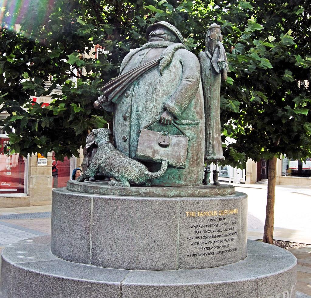 The Giles Grandma Statue, Ipswich - Suffolk. | The Grandma ... Daily Express