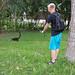 Jonas på cuatimundi-jakt