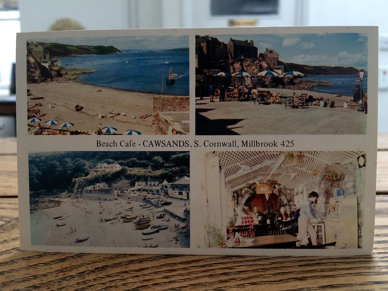 Beach Cafe - CAWSANDS, S. Cornwall, Millbrook 425