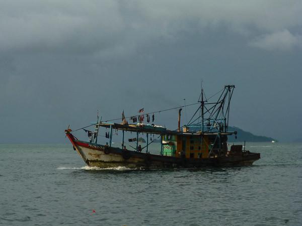 Trawler pulang