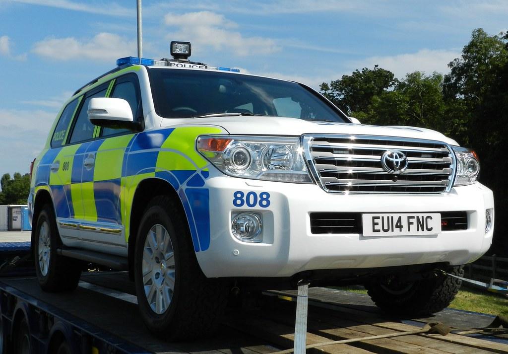 Land Cruiser >> EU14FNC 808 MOD Police Toyota Land Cruiser | Cobham Services… | Graham Tiller | Flickr