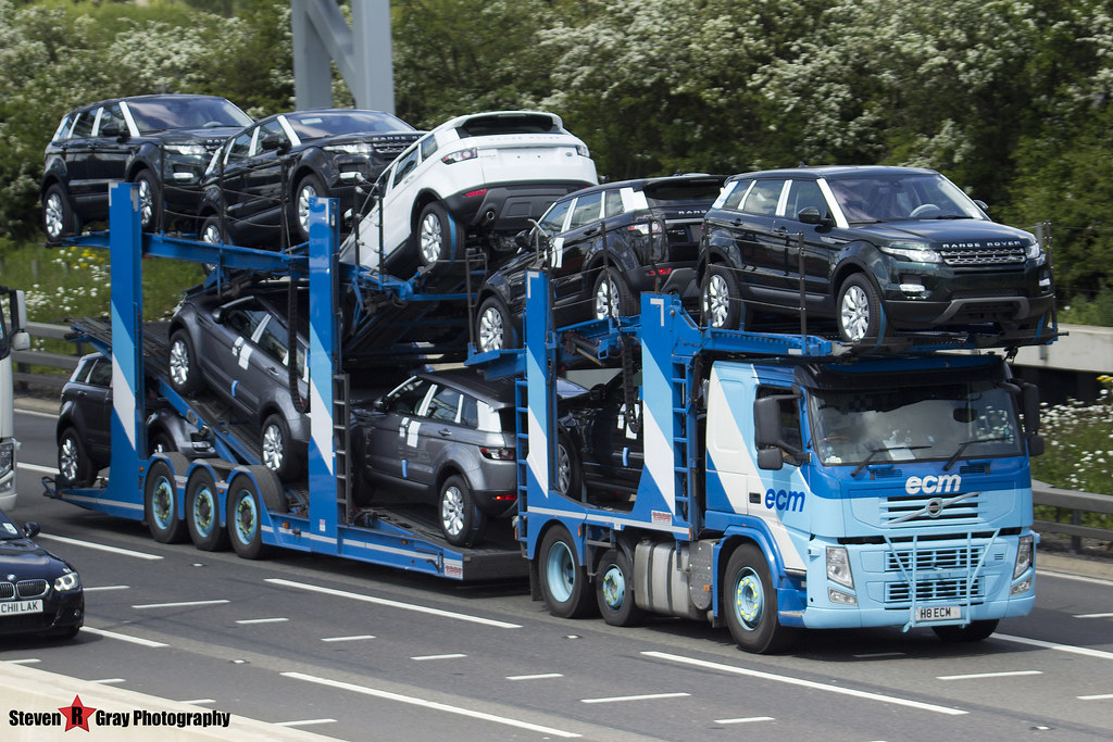 Volvo FM 6x2 Car Transporter - H8 ECM - ECM - M1 J10 Luton…   Flickr