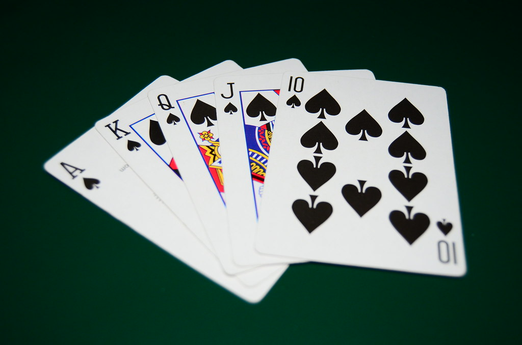 Royal Flush - Spades - The most valuable cards of the suit ...