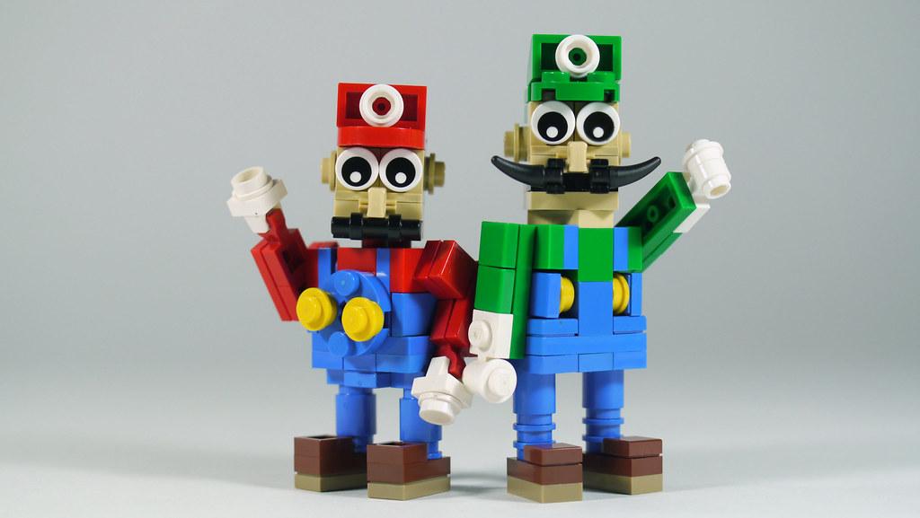LEGO Mario & Luigi   See how to build it: www.youtube.com ...