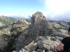 Le sommet 1219m du Capellu depuis l'autre sommet (1205m)