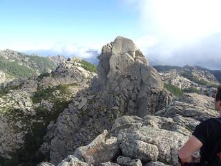 Du sommet 1205m : le sommet 1219m