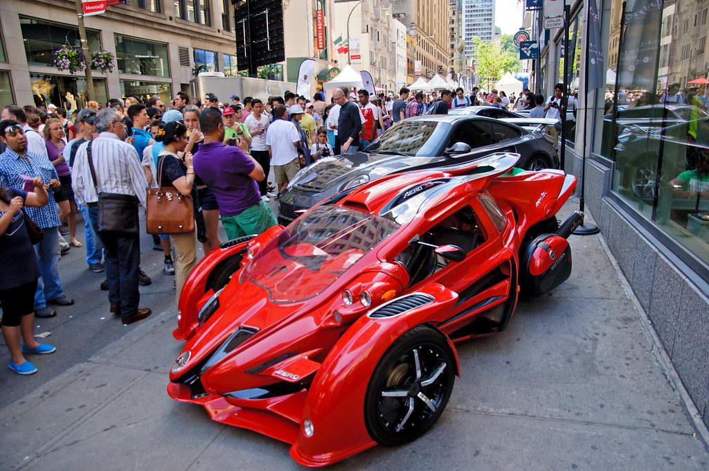 Montreal Rue Peel F1 Car Display F1 Weekend In Montrea Flickr