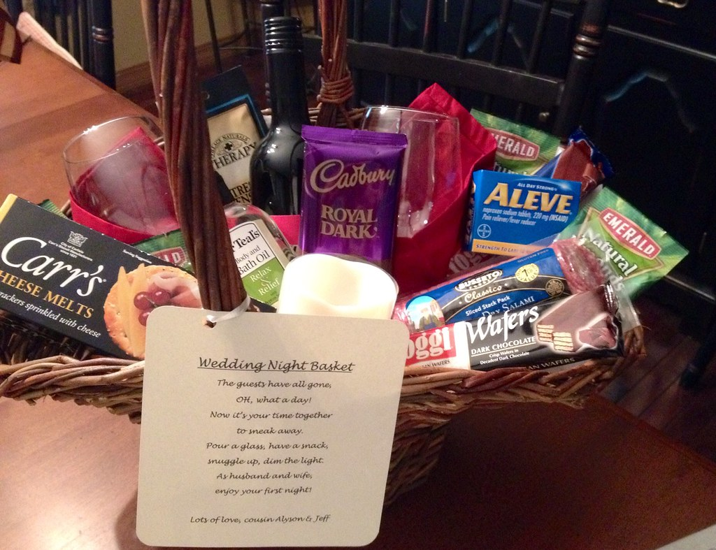 Ideas For Wedding Night Gift Basket ~ Lading for .
