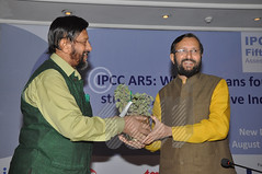 Keynote Address by Shri Prakash Javadekar, Hon'ble Minister of State for Environment, Forests, and Climate Change, Information and Broadcasting and Parliamentary Affairs, GoI at the event, IPCC AR5: What it means for a stronger, more inclusive India