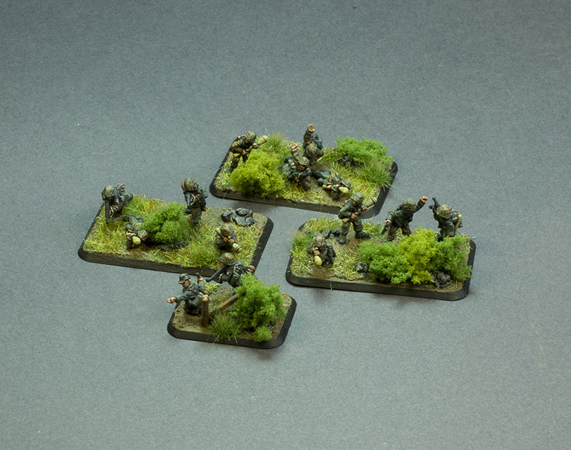 Flames of War Panzer Scout Platoon Infantry