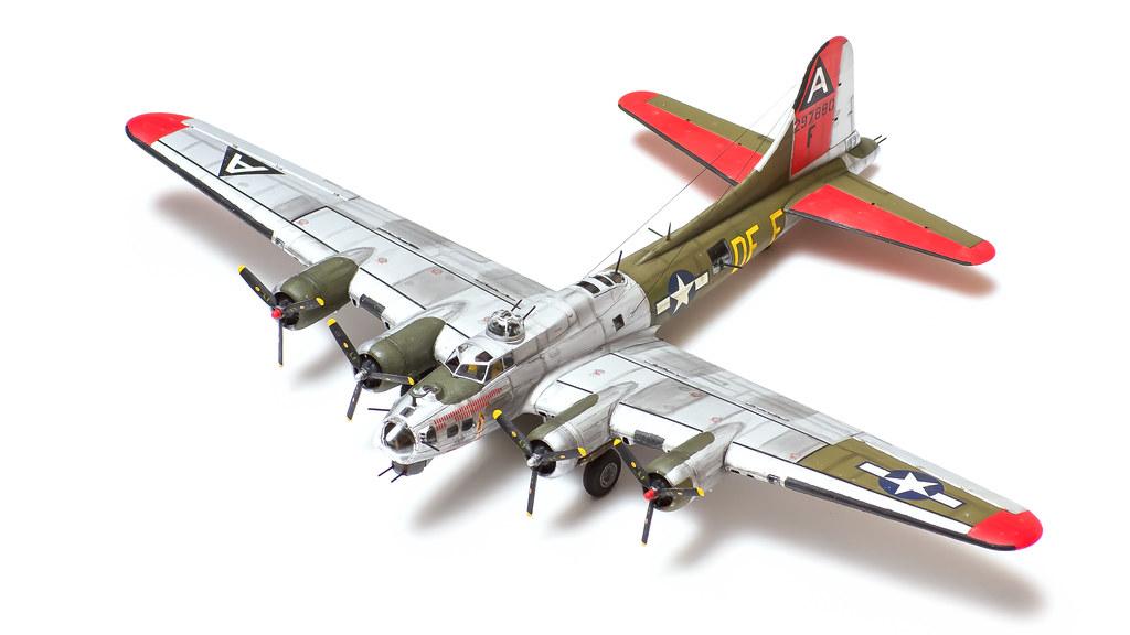 "17G Flying Fortress - ""Little Miss Mischief"" | 1st Air Div ... Beaver"