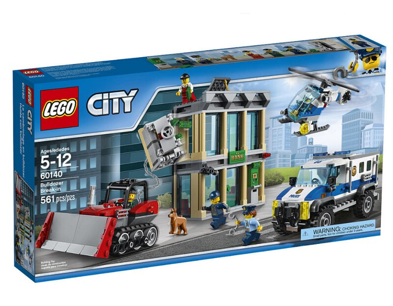 LEGO City Bulldozer Break-In (60140)