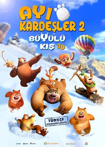 Ayı Kardeşler 2: Büyülü Kış - Boonie Bears: A Mystical Winter (2016)