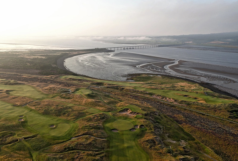 The carnegie club skibo castle aerial image
