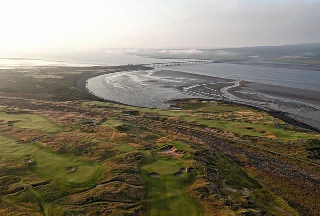 Skibo Golf Course Dornoch aerial image