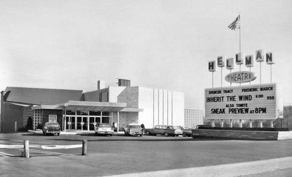 hellman movie theater washington ave c 1960 albany ny flickr
