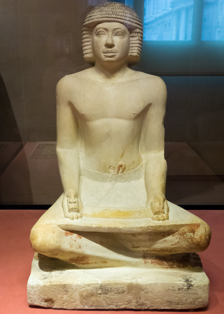 seated scribe List of ancient egyptian scribes an unnamed 5th dynasty scribe of egypt a list of egyptian scribes, almost the seated scribe list of scribes.