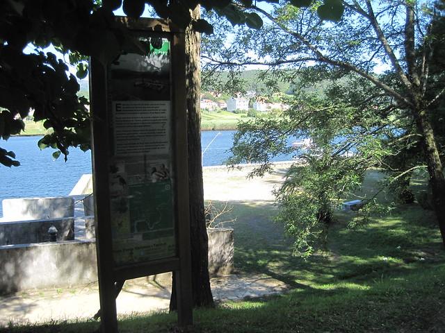 Panel Informativo Ruta Ponte Nafonso - Tambre